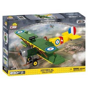 Cobi 2977 Great War Avro 504K, 230 kostek