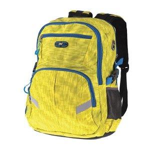 Easy školní batoh Žlutý 46 x 35 x 18 cm