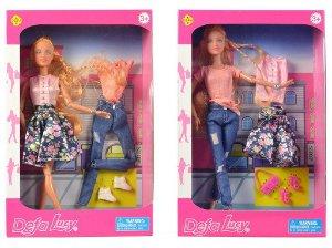 Defa Lucy panenka s oblečením, 30cm