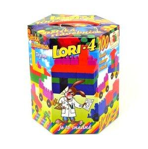 Stavebnice Lori 4, 100 dílků