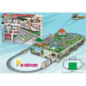 Pequetren CITY METRO Vlak metra na baterie