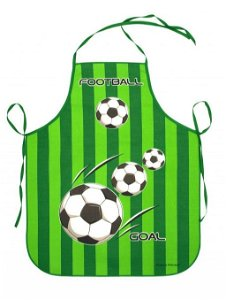 Forbyt Zástěra Fotbal zelená