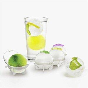 Forma na led, Ledové koule do nápojů 4 ks
