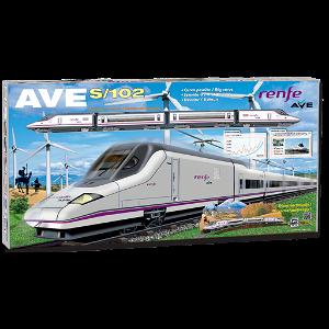 Pequetren RENFE AVE S-102 osobní vlak na baterie
