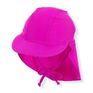 Sterntaler plavky čepice s plachetkou PURE UV 50+ růžová  2502098