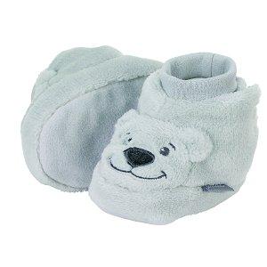 Sterntaler botičky plyšové zimní medvídek šedé 5102080