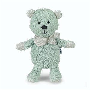 Sterntaler hračka chrastící malá méďa Terry zelený 21 cm 3001872
