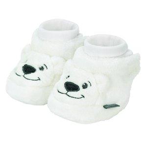 Sterntaler botičky plyšové zimní medvídek krémové 5102080