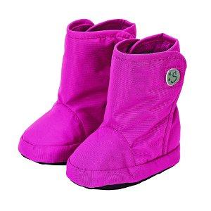 Sterntaler botičky textilní zimní šusťák vysoké růžové 5102001