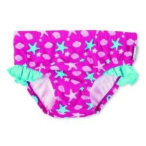 Sterntaler plavky kalhotky dívčí  hvězdice UV 50+ růžové 2502004