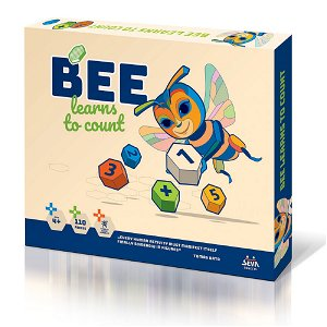 Seva BEE learns to count (Mosaic Maxi / 2)
