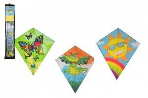 Teddies Drak létající nylon - 60 x 70 cm