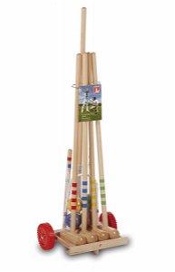 Lucio Londero Kroket 10304 - pro 4 hráče - dřevěný vozík