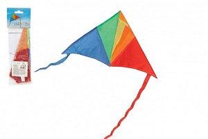 Teddies Drak létající nylon delta - barevný