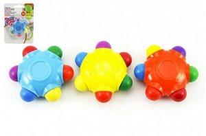 Teddies Pastelky hvězda voskovky 6 barev