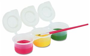 Primo Plastové kelímky uzavíratelné 3 x 75 ml