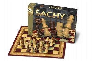 Bonaparte Šachy - dřevěné figurky