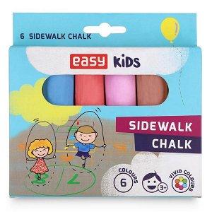 Easy Colours chodníkové křídy - 6 ks