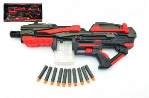 Teddies Pistole na pěnové náboje - 54 cm