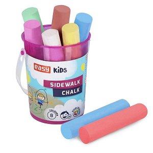 Easy Colours chodníkové křídy - 8 ks