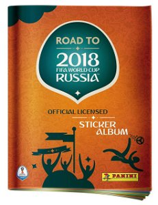 Panini ROAD TO WORLD CUP 2018 - album - Výprodej