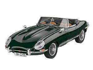 Revell ModelSet auto 67687 Jaguar E Type Roadster 1:24