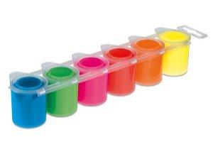 PRIMO FLUO Temperové barvy - 6 barev