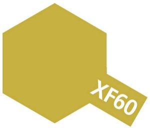 Tamiya Barva akrylová matná - Tmavě žlutá (Dark Yellow) - Mini XF-60
