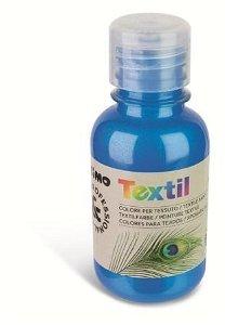 PRIMO METALIZA Barva na textil - 125 ml - modrá
