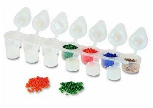 Primo Plastové kelímky uzavíratelné 7 x 6 ml