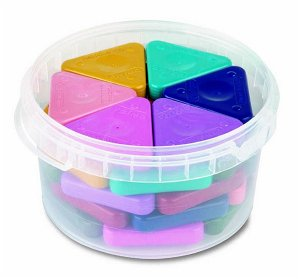 PRIMO Sada voskových pastelek PASTEL MAGIC - 30 ks (10 barev x 3 ks)