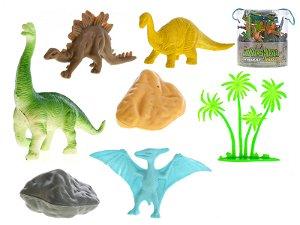 Mikro trading Sada dinosauři s doplňky - 34 ks