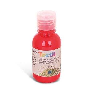 PRIMO Barva na textil - 125 ml - červená