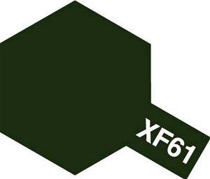 Tamiya Barva akrylová matná - Tmavě zelená (Dark Green) - Mini XF-61