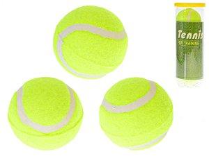 Mikro Trading Míčky tenisové 3ks v dóze