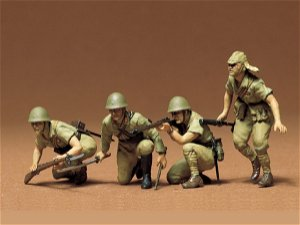Tamiya Japanese Army Infantry 1:35