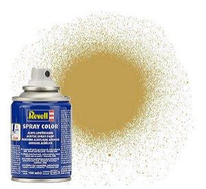 Revell barva ve spreji matná pískově žlutá #16