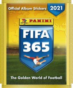PANINI FIFA 365 samolepky