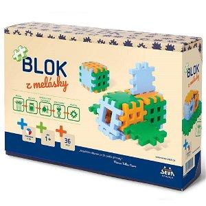 Seva Stavebnice Blok z melásky