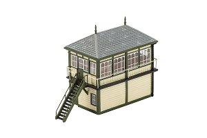 Hornby Budova pro modelovou železnici HORNBY R9838 Granite Station Signal Box CF_35-R9838