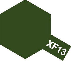 Tamiya Barva akrylová matná - Japonská armádní zelená (J.A.Green) - Mini XF-13