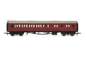 HORNBY Vagón osobní R4764 BR Collett Coach Corridor Brake Third Class RHMaroon