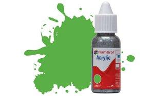 Humbrol Barva akrylová matná - Světle zelená (Bright Green) - č. 37