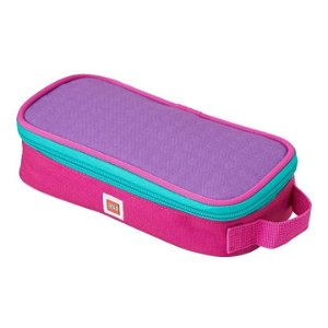 LEGO Pink/Purple - pouzdro hranaté